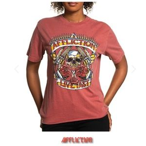 🥀 Affliction AC Shirt 2X *Rare Size* Women's 2X
